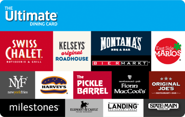 The Ultimate Dining Card eGift Card 1