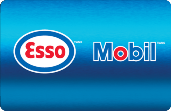 esso and mobil gift card deals on moola