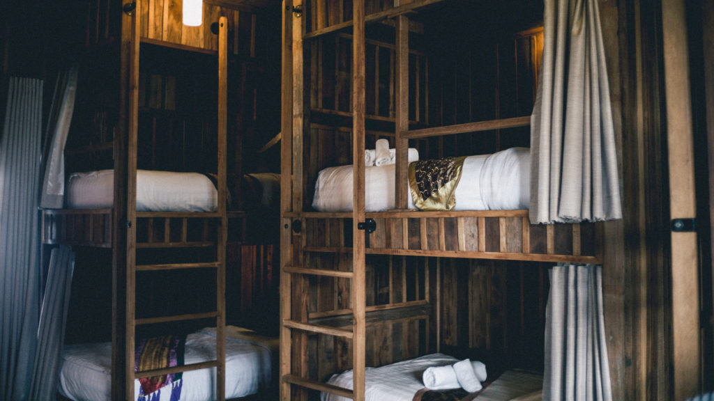 hostels and travel on a budget