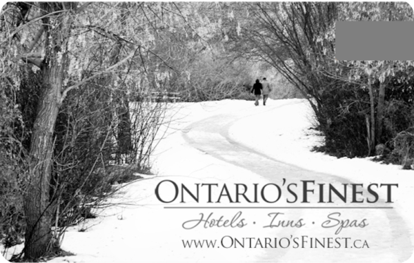 Ontario's Finest Hotels Inns and Spas eGift Cards 1