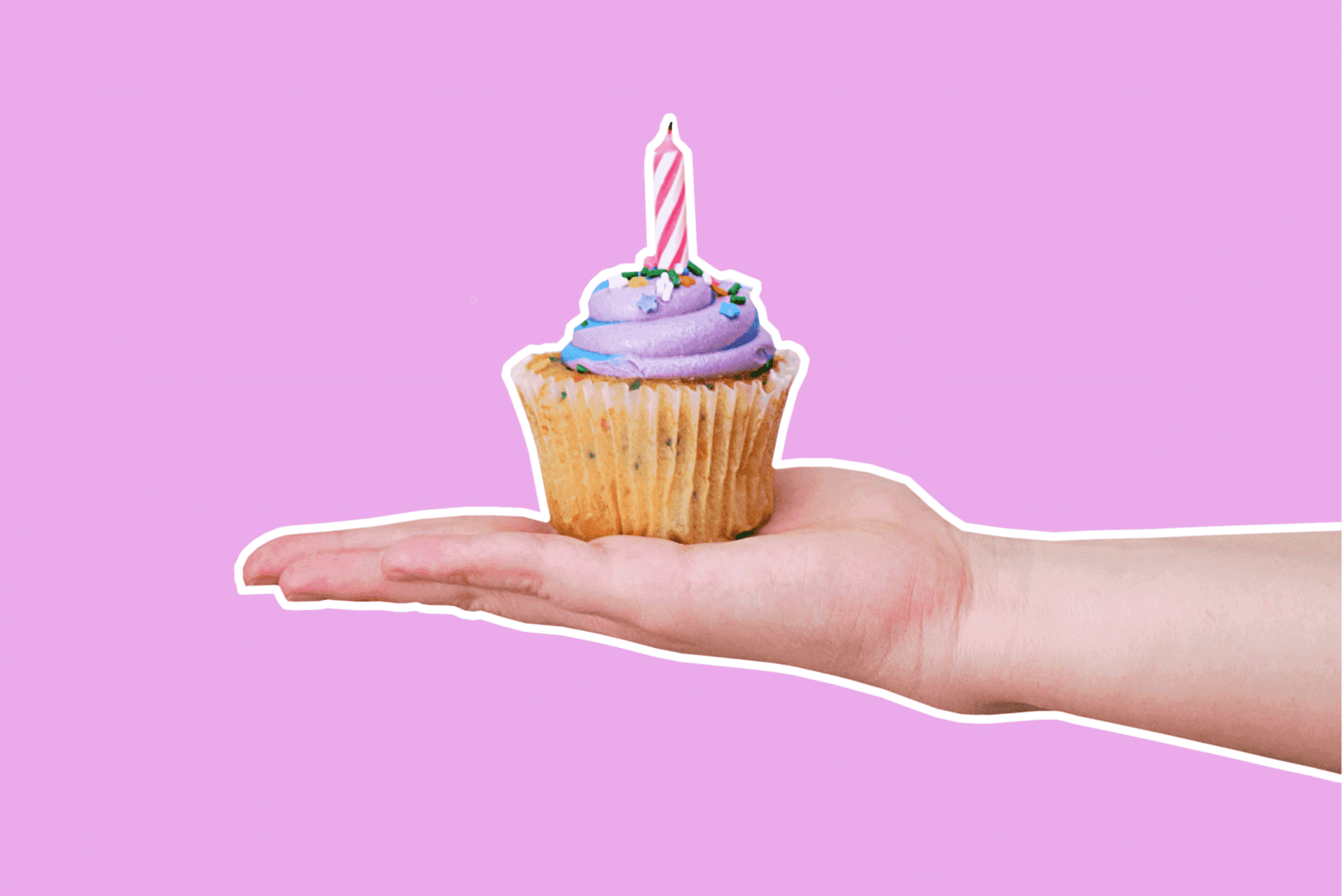 cupcake and free birthday and gift cards