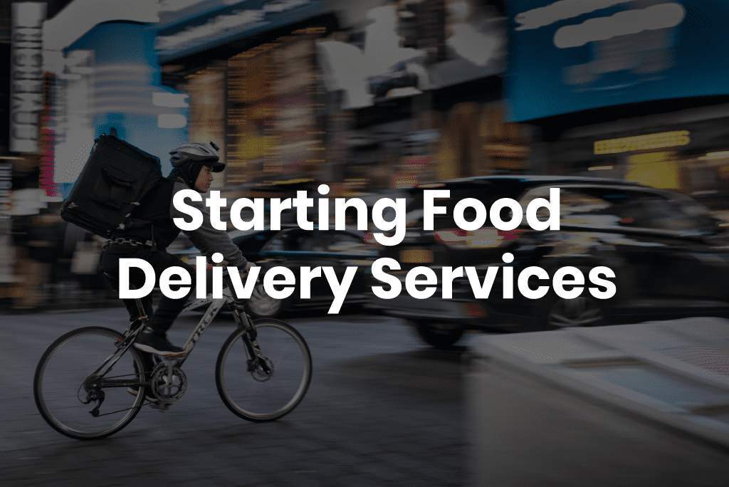 food delivery services and coronavirus