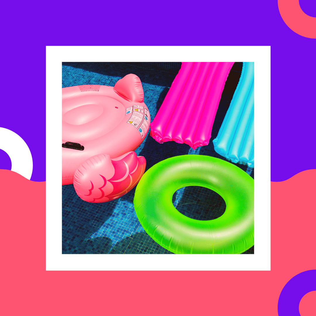pool toys and gift card deals and summer season