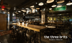 The Three Brits gift card - Save more at The Three Brits with Moola - Save money on eating out in Vancouver with Moola
