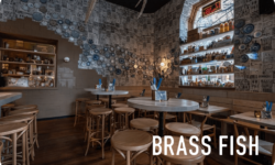 Brass Fish gift card - save on dining out in vancouver with moola