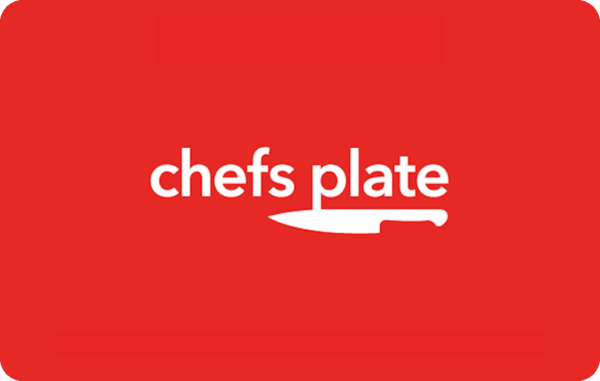 Save more on Chefs Plate with discounted gift cards with Moola