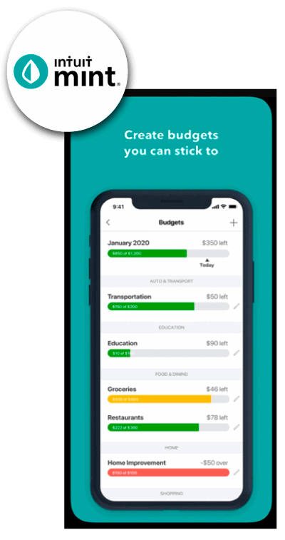 intuit mint budgeting app for canadians