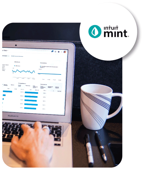 intuit mint free budgeting template