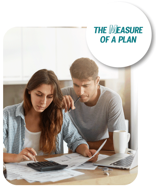 the measure of a plan free budgeting template