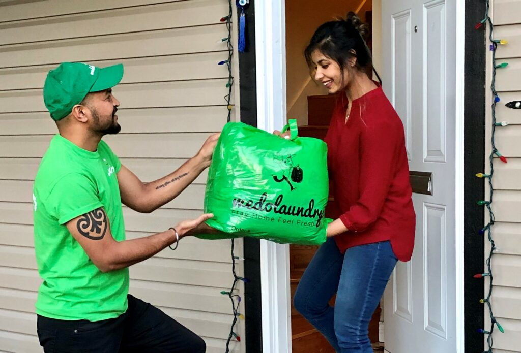We Do Laundry is a laundry valet service who collect your laundry and return it folded and ready to put away. Save on We Do Laundry with Moola