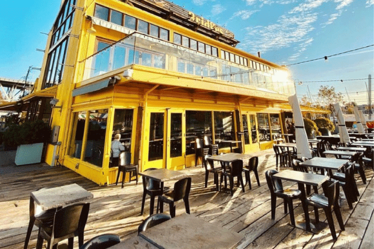 bridges patio restaurant in vancouver - change the way you shop and pay with moola