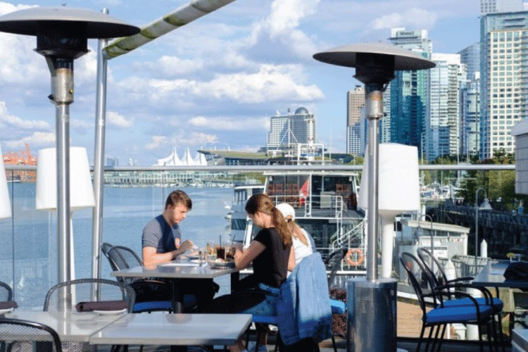 lift bar and grill restaurant patio in vancouver - change the way you shop and pay with moola