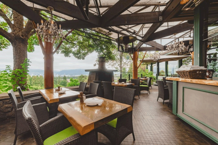 seasons in the park patio restaurant vancouver - change the way you shop and pay with moola