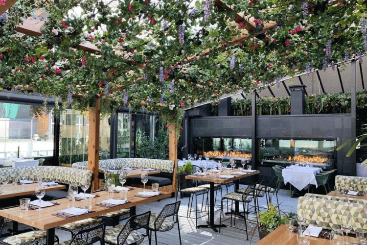 the roof patio restaurant in Vancouver - change the way you shop and pay with moola