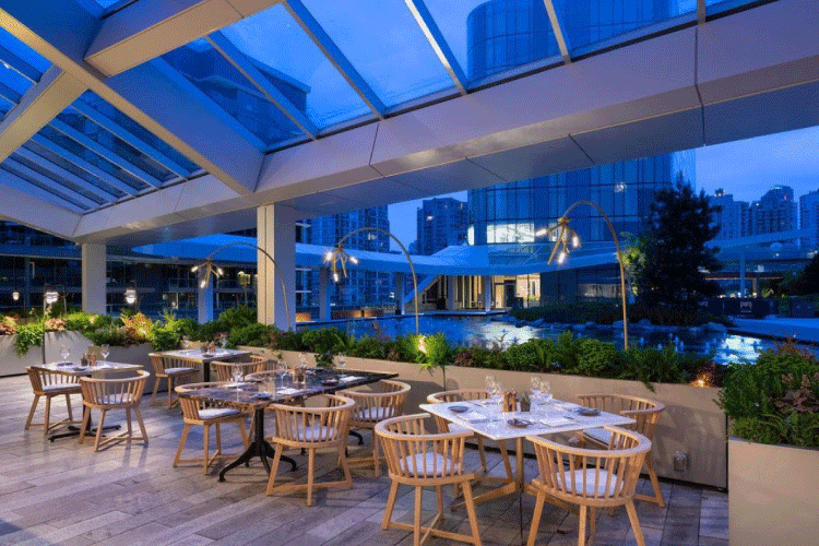 the victor restaurant patio in vancouver - change the way you shop and pay with moola