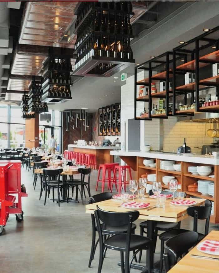 trattoria restaurant park royal in vancouver date ideas