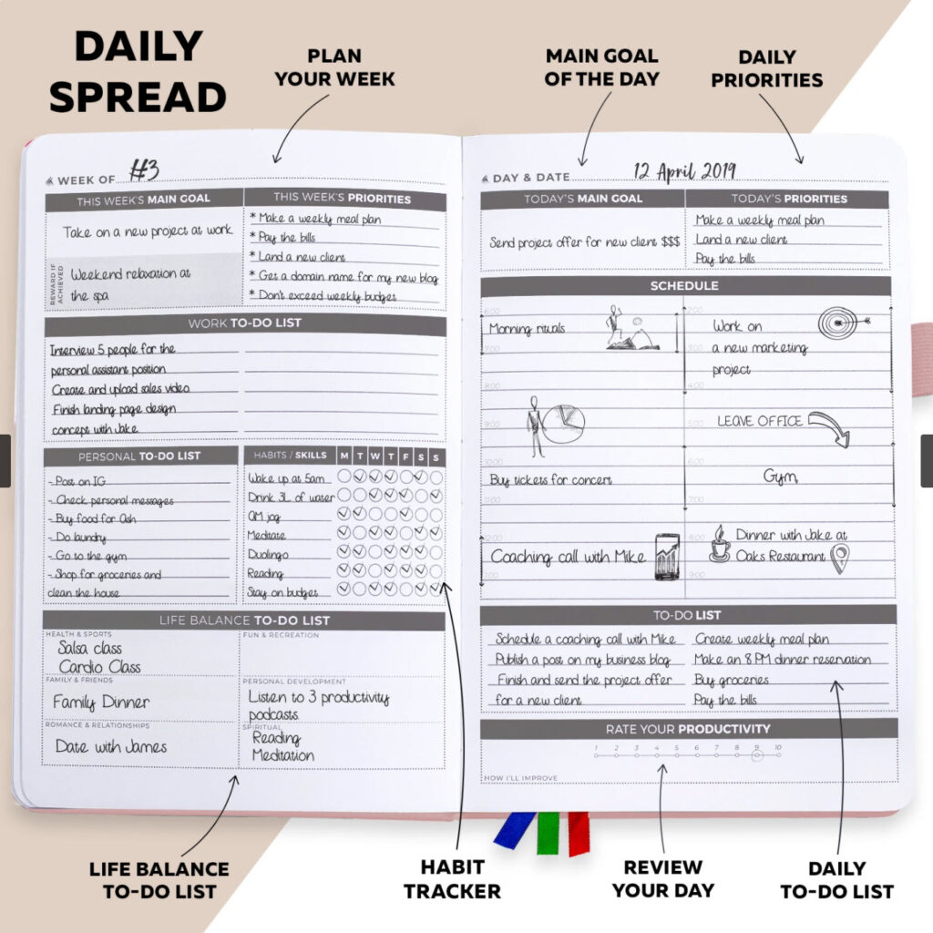clever fox day-to-day planner daily planner 2021 make back to school easy with Moola, Canada's favorite money-saving app