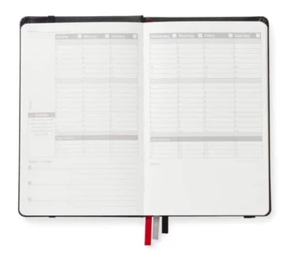Nomatic Planner Day-to-Day Planner 2021 - make back to school easy with Moola, Canada's favorite money-saving app